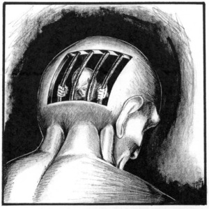 Solitary Confinement by Stan MoodyImage: http://www.indybay.org/newsitems/2011/12/03/18701671.php