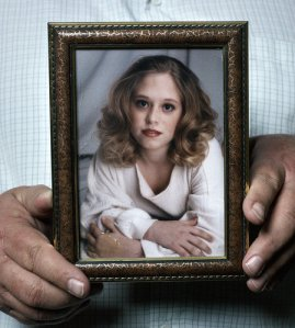 Laura Christine Boren Thomas, 20 slain by Andre Thomas on March 27th 2004.Photo by Matt Rainwater for Texas Monthly, courtesy of NYT.