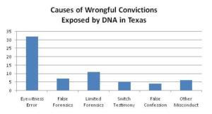 Causes of Wrongful Conviction Exposed by DNA in Texas - Naming and Treating.com