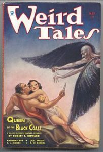 A 1934 issue of Weird Tales, the magazine in which first appeared H.P. Lovecraft's Gothic chiller, Rats in the Walls. Photo: Wikipedia