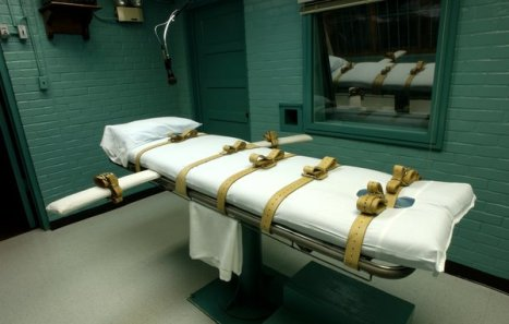 Texas' new and improved execution chamber - I guess it beats ol' Gruesome Gerty. Image Credit NYT