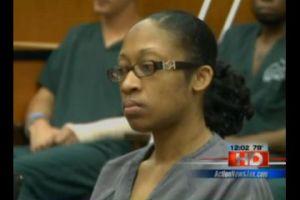Ms. Alexander at her sentencing, May 11. Image: GlobalPost