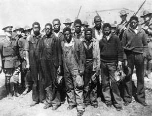 "The Scottsboro Boys, 1931. Wrongly convicted and sentenced to death, the Supreme Court twice ruled against the state of Alabama before the ""boys"" were released."