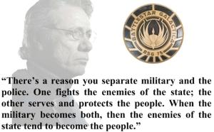 --Adama - Battlestar Galactica. Image: Utah Politico Hub