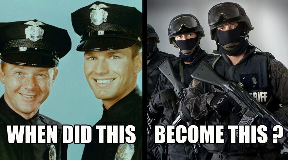 When Officer Friendly Becomes Delta Force (1/6)